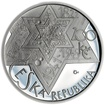 Mince ČNB - 2009 Proof - 200 Kč 400 let úmrtí Rabí Jehuda Löw