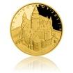 Zlatá investiční mince 5000 Kč Bouzov 2017 STANDARD 15,55 g (1/2 Oz)