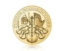 Zlatá investiční mince Wiener Philharmoniker 15,55 g (1/2 Oz)