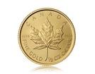 Zlatá investiční mince Maple Leaf 15,55 g (1/2 Oz)
