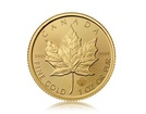 Zlatá investiční mince Maple Leaf 31,1 g (1 Oz)