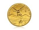 Zlatá investiční mince Mexiko Libertad 1,55 g (1/20 Oz)