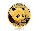 Zlatá investiční mince China Panda (Čínská panda) 3 gramy