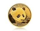 Zlatá investiční mince China Panda (Čínská panda) 15 gramů