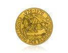Zlatá investiční mince Babenberger 976 - 1976 Münze Österreich 12,15 g