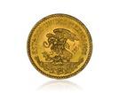Zlatá investiční mince Mexiko Aztécký kalendář 20 Pesos 15 g
