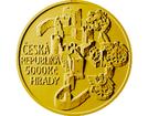 Zlatá investiční mince 5000 Kč Rabí 2018 STANDARD 15,55 g (1/2 Oz)