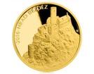 Zlatá investiční mince 5000 Kč Bezděz 2016 PROOF 15,55 g (1/2 Oz)
