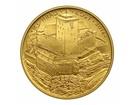 Zlatá investiční mince 5000 Kč Kost 2016 PROOF 15,55 g (1/2 Oz)
