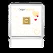 Zlatý investiční slitek GEIGER originál 1 g .9999 edice pro zamilované