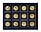 Sada zlatých investičních mincí 1 Oz Lunární série I. 1996 - 2007