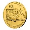 Zlatá uncová investiční mince Český lev 2019 stand 31,1 g