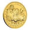 Zlatá uncová investiční mince Český lev 2019 reverse proof 31,1 g (1 Oz)