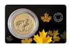 Zlatá investiční mince Howling Wolf 2014 31,1 g (1 Oz)