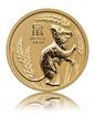 Zlatá investiční mince Australská Lunární Série III. 2020 Myš 7,78 g (1/4 Oz)