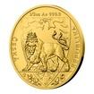 Zlatá 1/2oz investiční mince Český lev 2020 stand 15,55 g