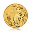 Zlatá investiční mince Australská Lunární Série III. 2020 Myš 62,21 g (2 Oz)