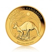 Zlatá investiční mince Nugget Kangaroo Klokan 15,55 g (1/2 Oz)