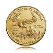 Zlatá investiční mince American Eagle (Americký orel) 15,55 g (1/2 Oz)