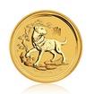 Zlatá investiční mince Australská Lunární Série II. 2018 Pes 7,78 g (1/4 Oz)