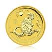 Zlatá investiční mince Australská Lunární Série II. 2016 Opice 15,55 g (1/2 Oz)