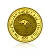 Zlatá investiční mince Nugget Kangaroo Klokan 62,2 g (2 Oz)