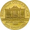 Zlatá investiční mince Wiener Philharmoniker ATS 7,78 g (1/4 Oz)