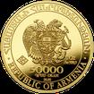 Zlatá investiční mince Archa Noemova 2020 1 Oz .9999