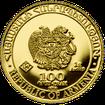 Zlatá investiční mince Archa Noemova 2020 1 g .9999