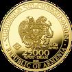 Zlatá investiční mince Archa Noemova 2020 1/2 Oz .9999