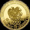 Zlatá investiční mince Archa Noemova 2020 1/4 Oz .9999