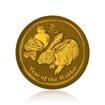 Zlatá investiční mince Australská Lunární Série II. 2011 Králík 62,21 g (2 Oz)