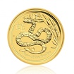 Zlatá investiční mince Australský lunární rok 2013 Had 15,55 g (1/2 Oz)