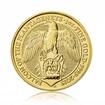 Zlatá investiční mince The Queen's Beast 2019 Falcon 31,1 g (1 Oz)