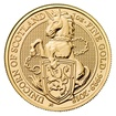 Zlatá investiční mince The Queen's Beast 2018 Unicorn 31,1 g (1 Oz)