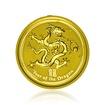 Zlatá investiční mince Australská Lunární Série II. 2012 Drak 3,11 g (1/10 Oz )