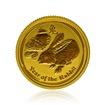 Zlatá investiční mince Australská Lunární Série II. 2011 Králík 3,11 g (1/10 Oz)