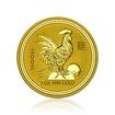 Zlatá investiční mince Australská Lunární Série I. 2005 Kohout 31,1 g (1 Oz)