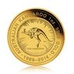 Zlatá investiční mince Kangaroo Klokan 25. výročí 31,1 g (1 Oz)