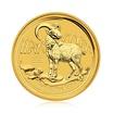 Zlatá investiční mince Australská Lunární Série II. 2015 Koza 1,55 g (1/20 Oz)