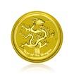 Zlatá investiční mince Australská Lunární Série II. 2012 Drak 1,55 g (1/20 Oz )