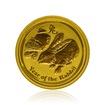 Zlatá investiční mince Australská Lunární Série II. 2011 Králík 1,55 g (1/20 Oz)