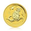 Zlatá investiční mince Australská Lunární Série II. 2016 Opice 1,55 g (1/20 Oz)