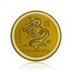 Zlatá investiční mince Australská Lunární Série I. 2000 Drak 1 kilogram
