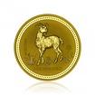 Zlatá investiční mince Australská Lunární Série I. 2003 Koza 62,2 g (2 Oz)