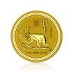 Zlatá investiční mince Australská Lunární Série I. 2004 Opice 31,1 g (1 Oz)