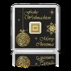 Zlatý investiční slitek 1 gram 9999 GEIGER Originál vánoční edice - dárkové balení