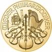 Zlatá investiční mince Wiener Philharmoniker 2021 15,55 g (1/2 Oz)