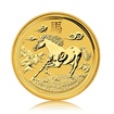 Zlatá investiční mince Australská Lunární Série II. 2014 Kůň 15,55 g (1/2 Oz)