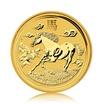 Zlatá investiční mince Australská Lunární Série II. 2014 Kůň 1,55 g (1/20 Oz)